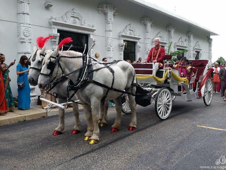 Tmx Stretch Indian Wedding Carriage 022 51 63825 Wellsville, OH wedding transportation