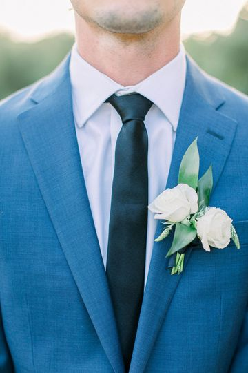 Blue tux