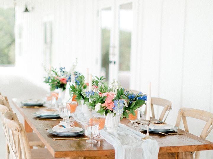 Tmx 1506564842490 Always In Love Weddings Farm Table Close Up Dallas, TX wedding florist