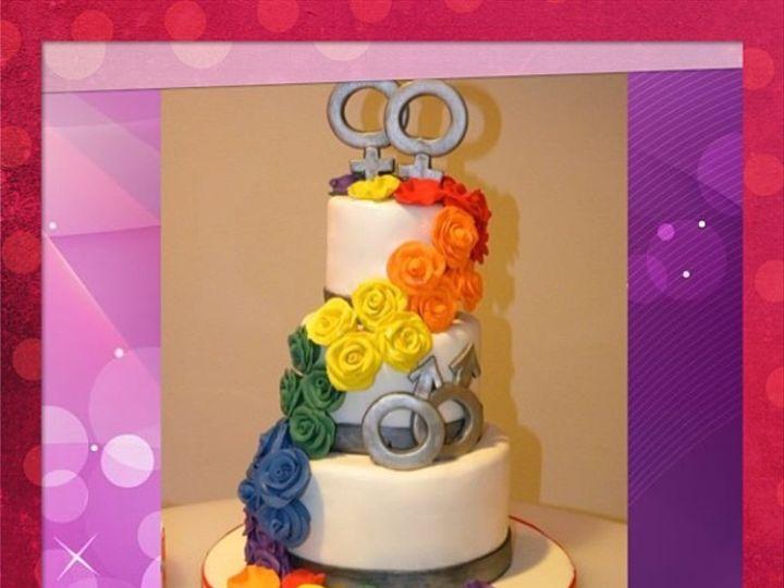 Tmx 1402958518439 7380f6f09f3c11e2ad1922000a1cbd317 Bronx wedding cake