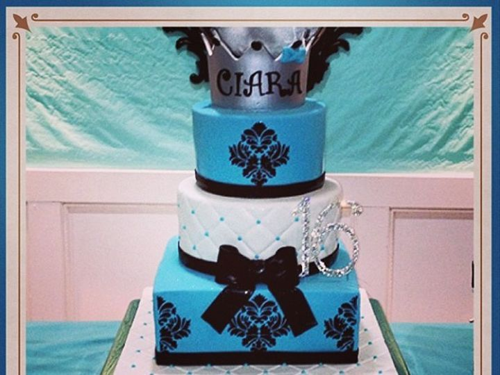 Tmx 1402958583012 4e9ae5128abf11e2971f22000a1f8c257 Bronx wedding cake