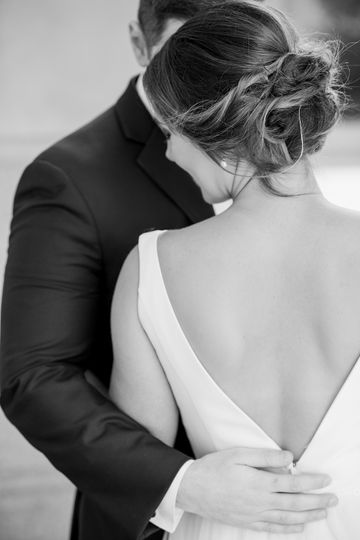 Black and white shot | Traci and Troy Photography