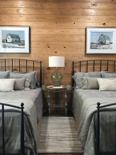 Guest house double beds