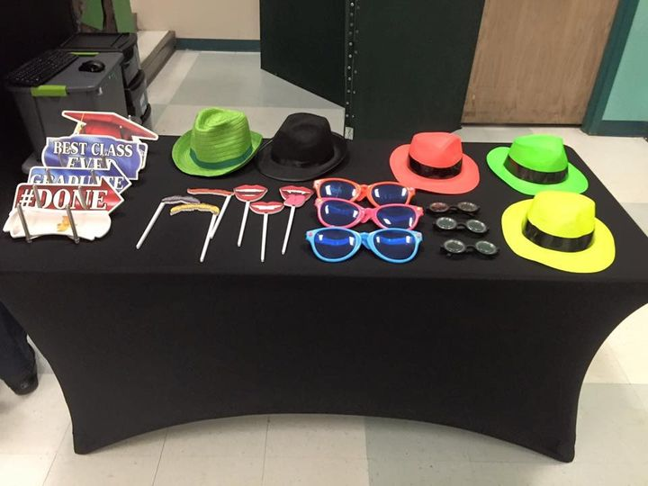 Just a small sample of our large assortment of props for every occasion!