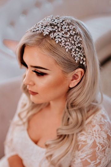 Amorette Swarovski headband