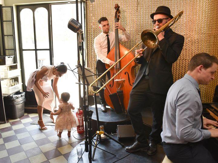 Tmx 1529778311 19f61b5b47ecb525 1529778307 B6937a174c0b5233 1529778304186 3 JSchmittPhoto Eric Brooklyn, NY wedding ceremonymusic