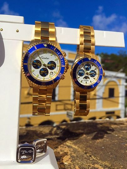 Timepieces that reflect the Virgin Islands - VI Watches by Cardow Jewelers.