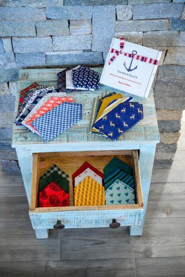 Custom design pocket squares