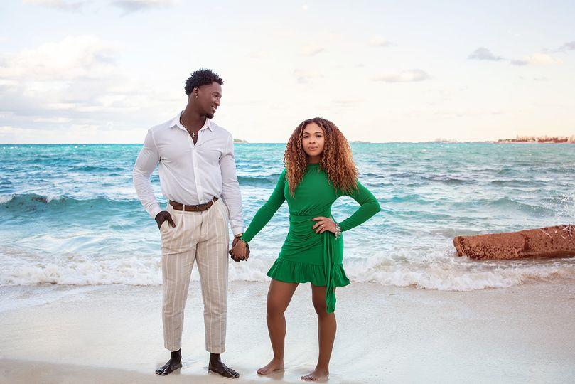 Bahamas photo on beach
