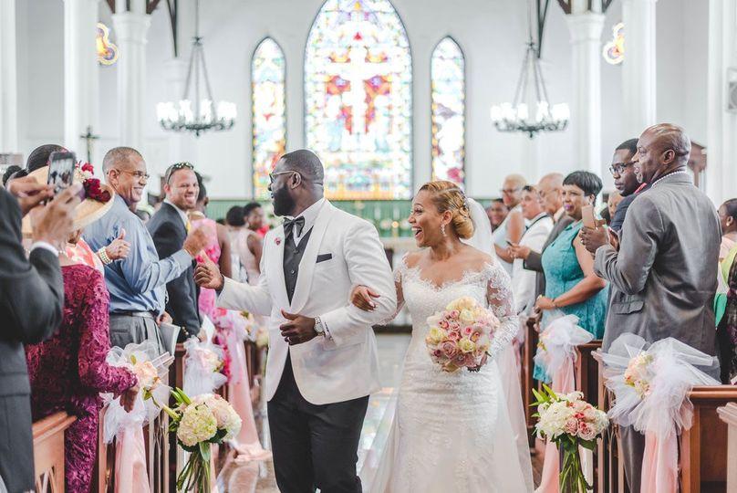 Wedding day exits