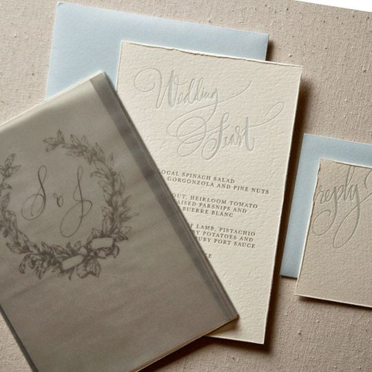 equestrian calligraphy invitation3