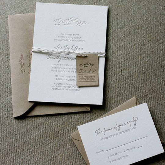 elegant mountain wedding invitation1
