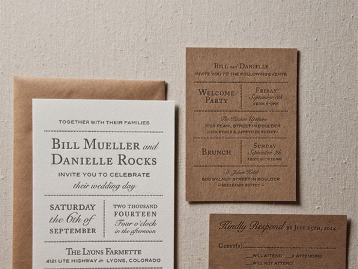 Tmx 1433887370051 Farmette Wedding Invitation1 Boulder, CO wedding invitation