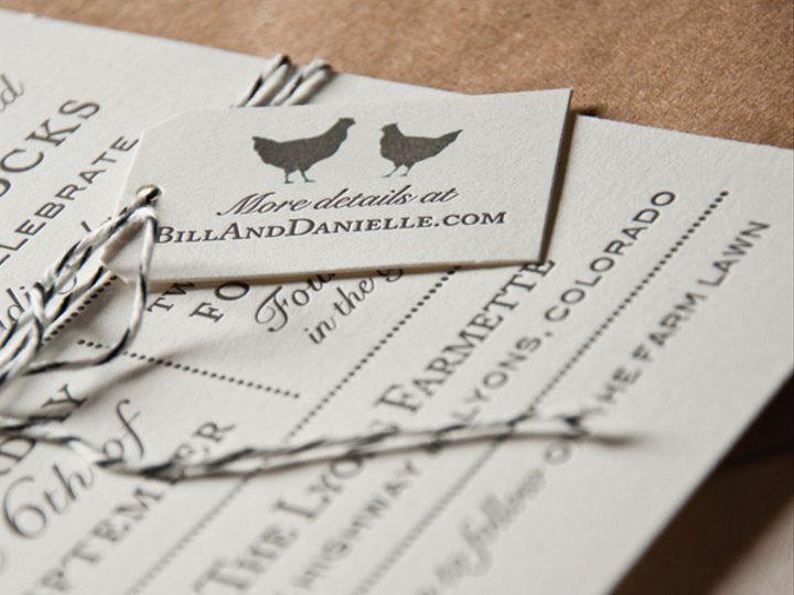 Tmx 1433887373505 Farmette Wedding Invitation2 Boulder, CO wedding invitation