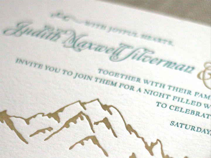 Tmx 1433887390148 Ouray Wedding Invitation2 Boulder, CO wedding invitation