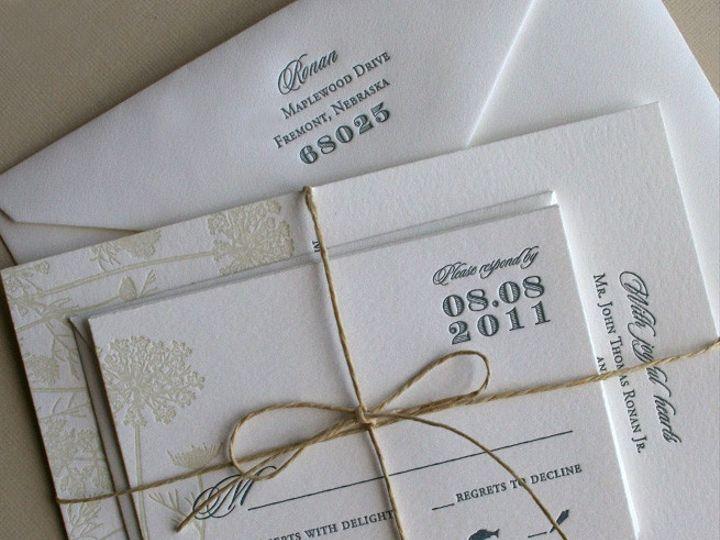 Tmx 1433887392407 Queen Annes Lace Wildflower Invitation4 Boulder, CO wedding invitation
