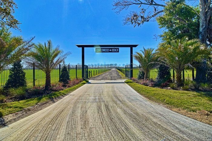 Entrance to the beautiful 760 acre ranch