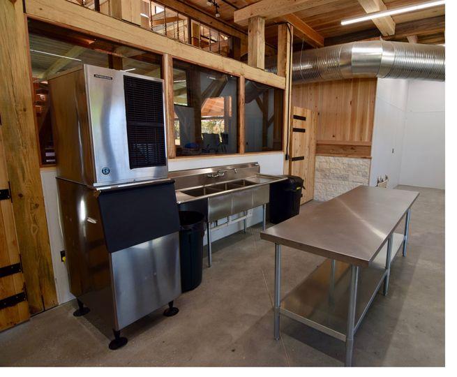 Huge caterer's kitchen
