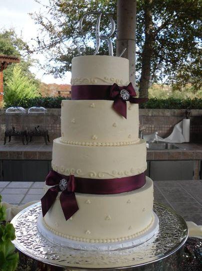 Betty Jane S Bakeshoppe Wedding Cake San Antonio Tx