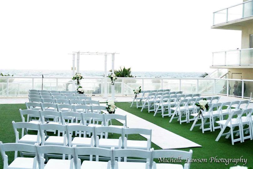 Ocean Terrace Ceremony