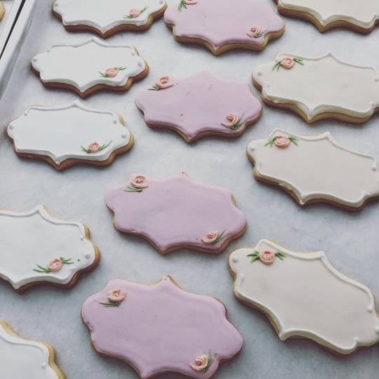 Personalized cookies as favors