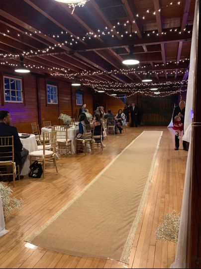 Reception and ceremony