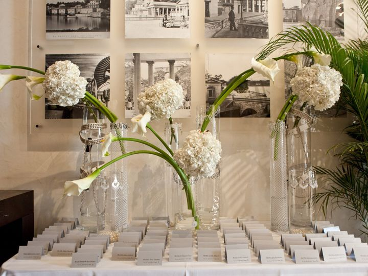 Tmx 1401824926036 Modern White Cylinders Place Card Table Glenside, PA wedding planner