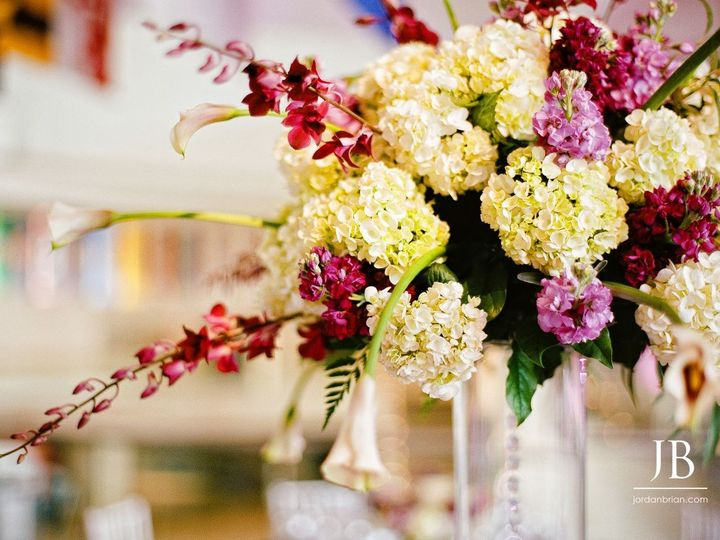 Tmx 1401824965525 Purple Cranberry Accents White Hydrangea Glenside, PA wedding planner