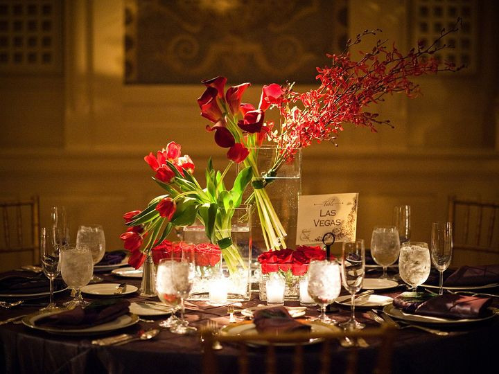Tmx 1401824972360 Red Modern Collection Glass Centerpiece Glenside, PA wedding planner