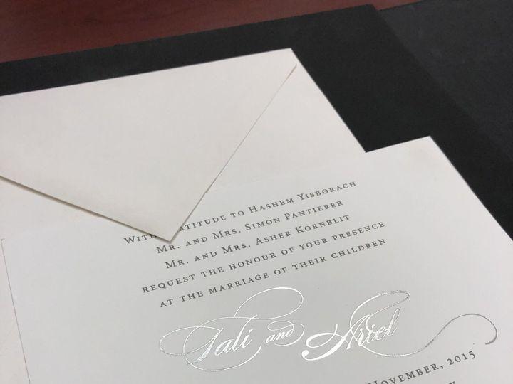 Tmx 1529449569 116bacc36842b52f 1529449565 21cb54f4489d2220 1529449550675 9 IMG 3005 Lakewood, New Jersey wedding invitation