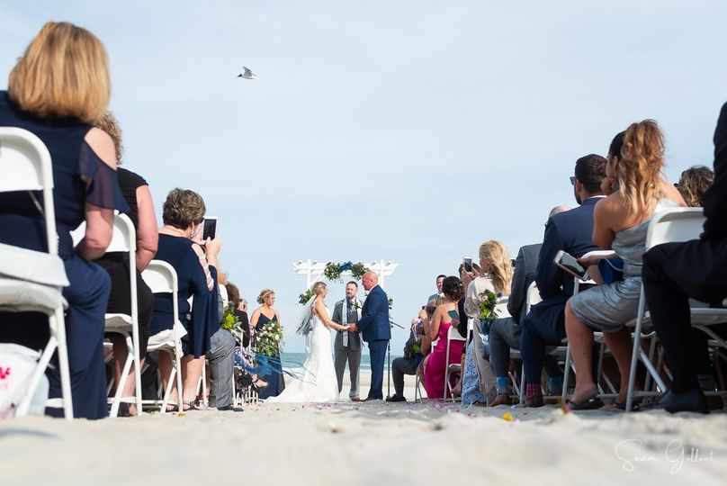 Nothing like a beach ceremony