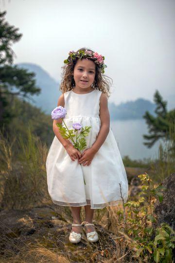 Flower girl. Hood River, OR.