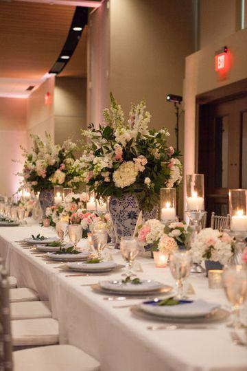Beautiful Long Table Displays