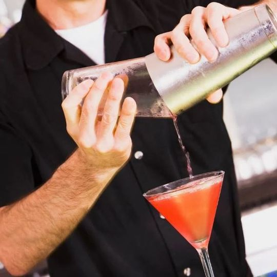 Mixing cocktails