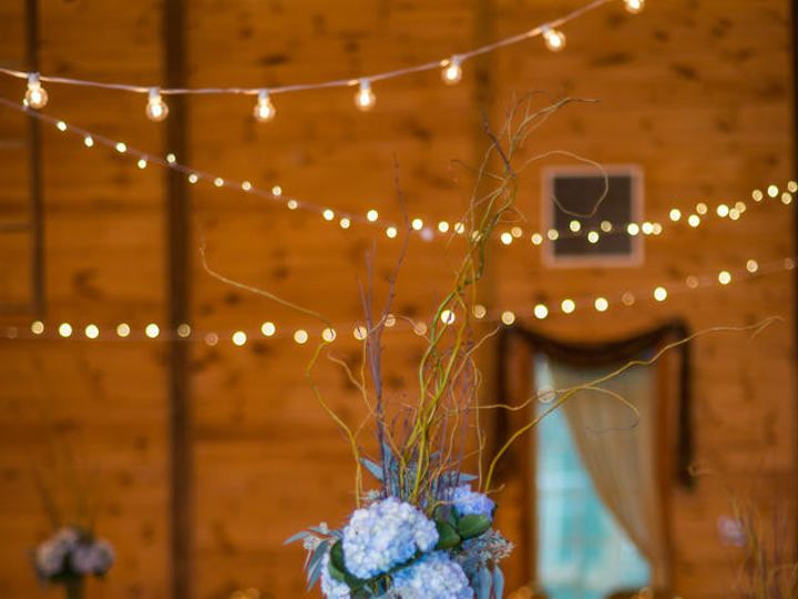 Tmx 1447333392666 Abisso Hall Blue Table With Cafe Lights Mount Airy, MD wedding venue