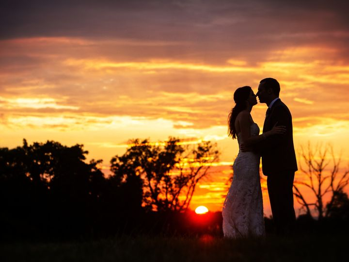 Tmx 1447333590689 Kelly Bride And Groom Sunset Silhouette Mount Airy, MD wedding venue