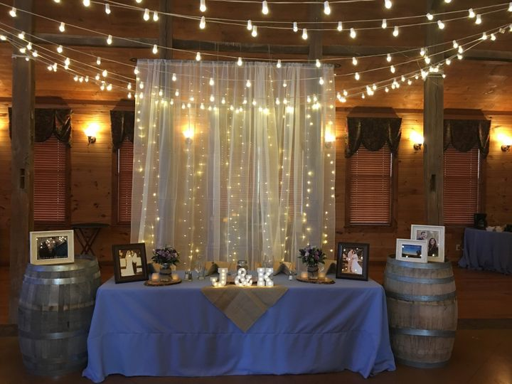 Tmx 1490893375155 Abisso Hall Head Table With Back Drop Mount Airy, MD wedding venue