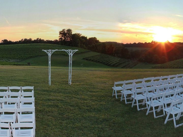 Tmx Ceremony Site Sunset 51 1035 V1 Mount Airy, MD wedding venue