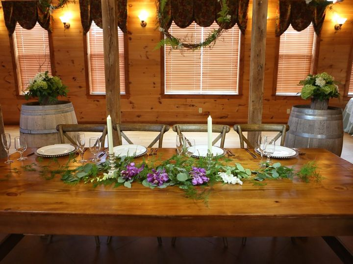 Tmx Farm Table Close Up 51 1035 Mount Airy, MD wedding venue