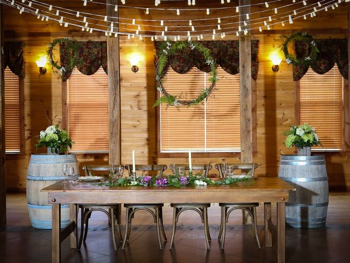Tmx Farm Table With Barrels 2 51 1035 V1 Mount Airy, MD wedding venue