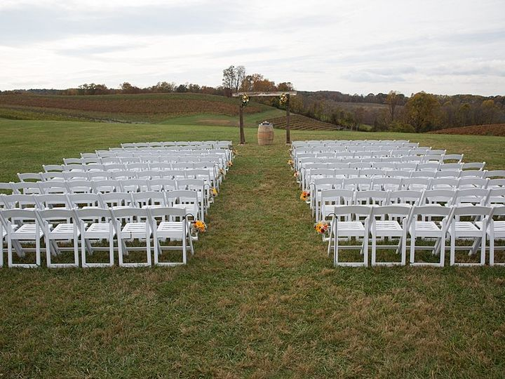 Tmx West Lawn Ceremony Kelly Hahn 51 1035 V1 Mount Airy, MD wedding venue