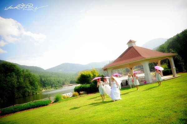 Wedding Ceremony at the Lake Lure Inn Gazebo