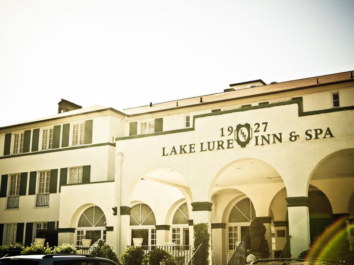 Tmx 1500646604440 Hotel Front Lake Lure, NC wedding venue