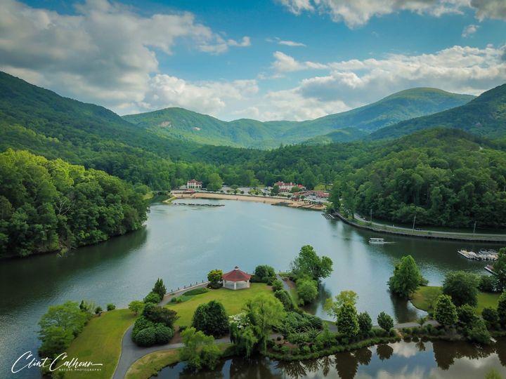 Tmx Gazebo Aerial 51 161035 157703384196674 Lake Lure, NC wedding venue