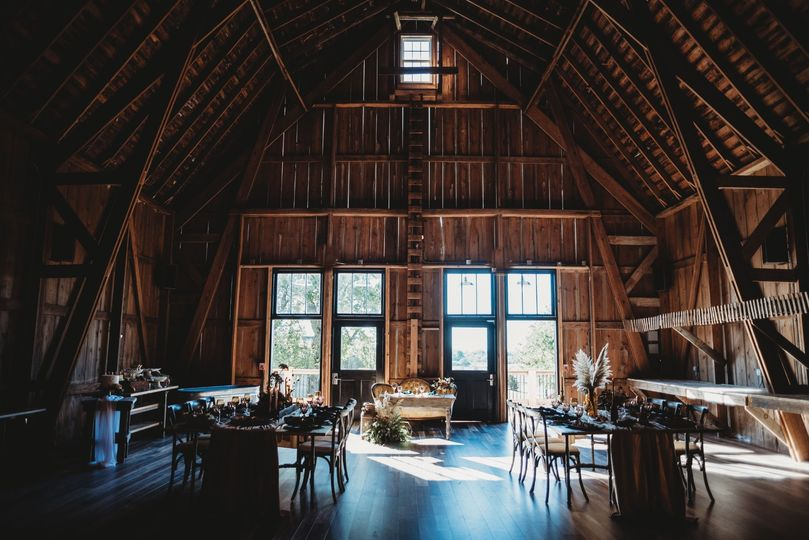 Seating arrangements in the barn