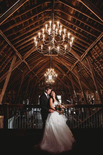 Lighting in barn