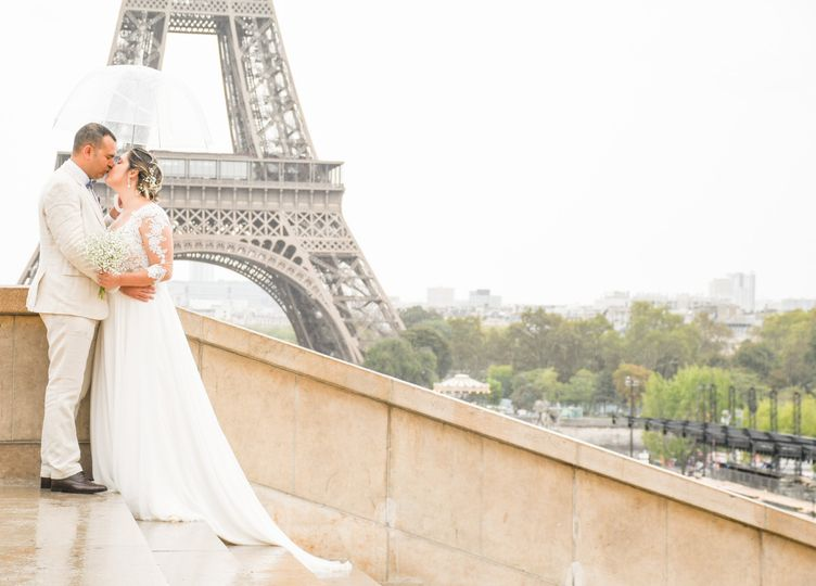Wedding in Paris, France