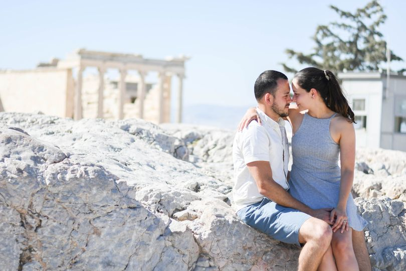 Elopement in Athens, Greece