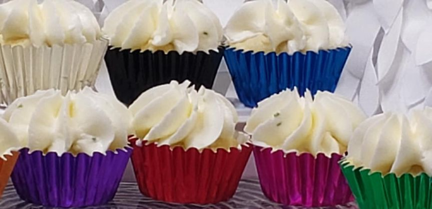 Metallic Cupcake liners