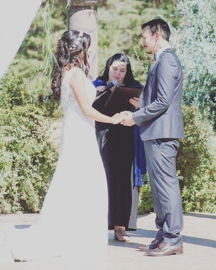 Summer wedding vows